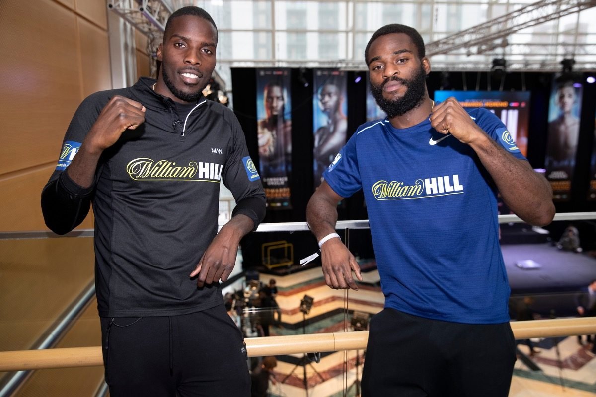 Joshua Buatsi Lawrence Okolie British Boxing Press Room