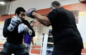 Argenis Mendez - Two of Washington, D.C.'s most accomplished and recognized boxers, Lamont Peterson and Anthony Peterson, held a media workout in their hometown Tuesday as they near their respective showdowns taking place Sunday, March 24 in PBC on FS1 and FOX Deportes action live from MGM National Harbor in Maryland.