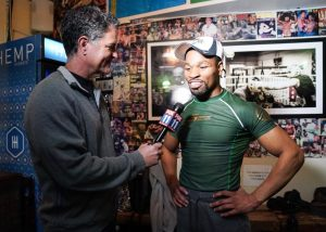 Yordenis Ugas -  WBC Welterweight World Champion Shawn Porter and top contender Yordenis Ugas held a media workout Wednesday at Churchill Boxing Club in Santa Monica as they near their title showdown that headlines Premier Boxing Champions on FOX and FOX Deportes Saturday night from Dignity Health Sports Park in Carson, California.