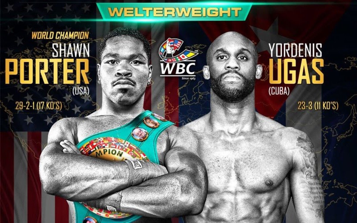 """Shawn Porter, Yordenis Ugas - Today, FOX Sports announces WBA Welterweight World Champion Keith Thurman to join International Boxing Hall of Famer Ray """"Boom Boom"""" Mancini and host Kate Abdo live in FOX Sports' Los Angeles studios for coverage of FOX PBC FIGHT NIGHT: PORTER VS. UGAS on Thursday, March 7 - Saturday, March 9."""