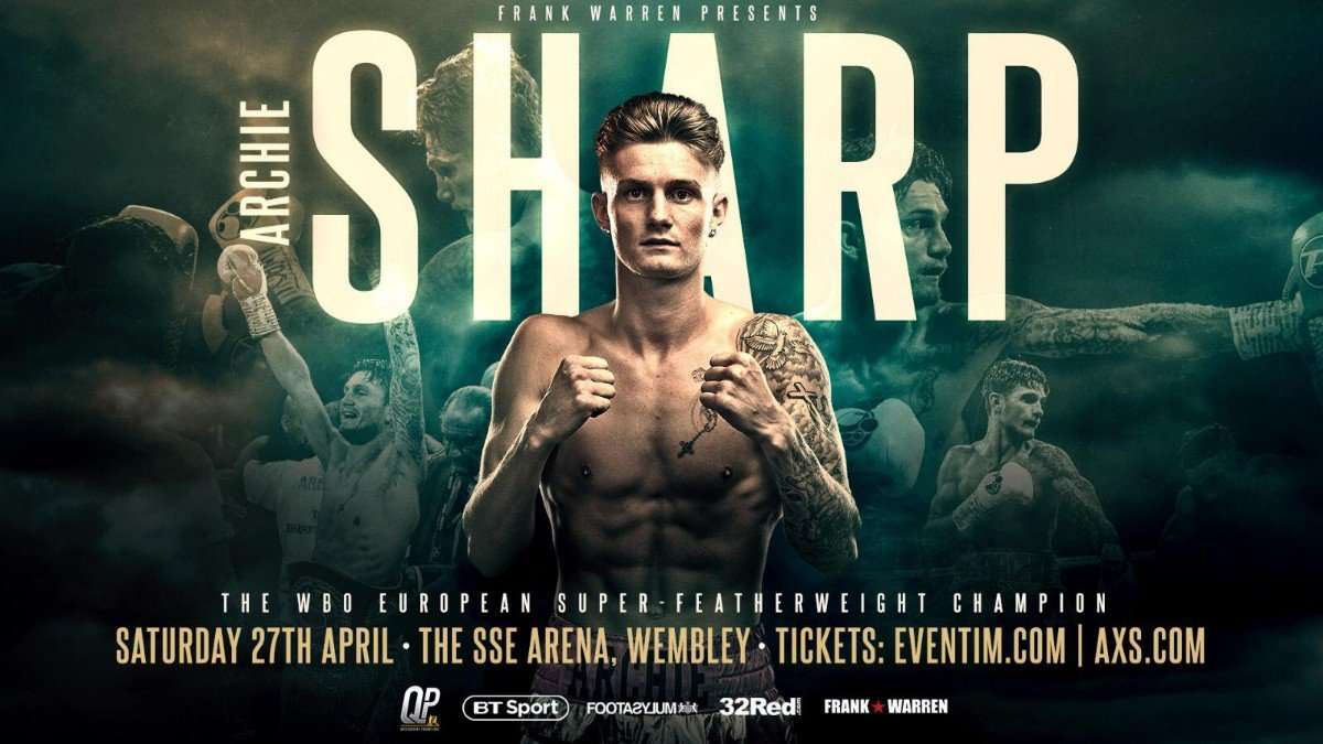 Archie Sharp - ARCHIE SHARP has drawn up battle plans to takeover the super-featherweight division at domestic and world level.