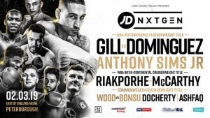 Jordan Gill - Jordan Gill is determined to break into the World rankings with a win over Emmanuel Dominguez on Saturday.