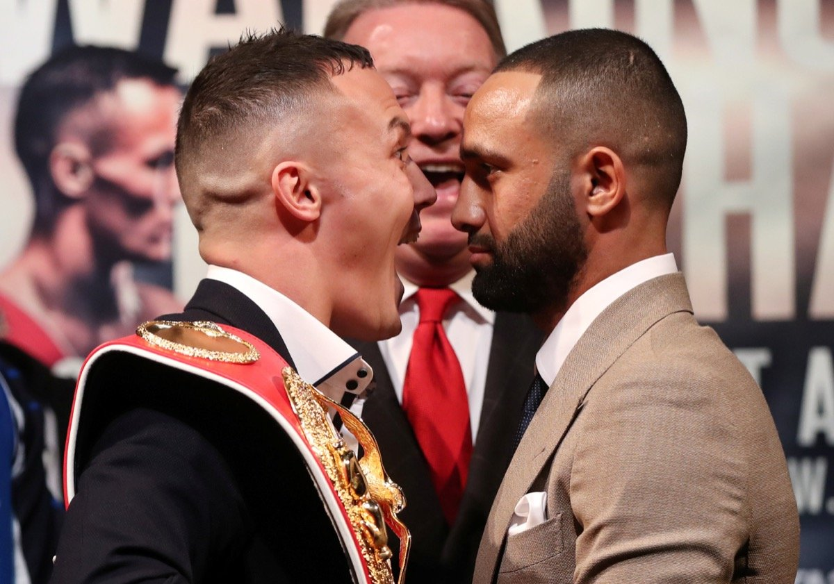 Josh Warrington, Kid Galahad - AHEAD OF THEIR hugely anticipated World Title clash in June, champion Josh Warrington and mandatory challenger Kid Galahad faced off at the home of Leeds United yesterday.