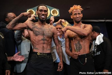 Rances Barthelemy Robert Easter Jr. Boxing News