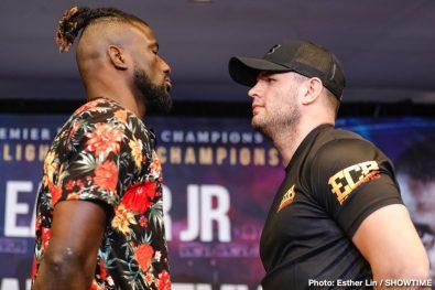 Rances Barthelemy Robert Easter Jr. Boxing News