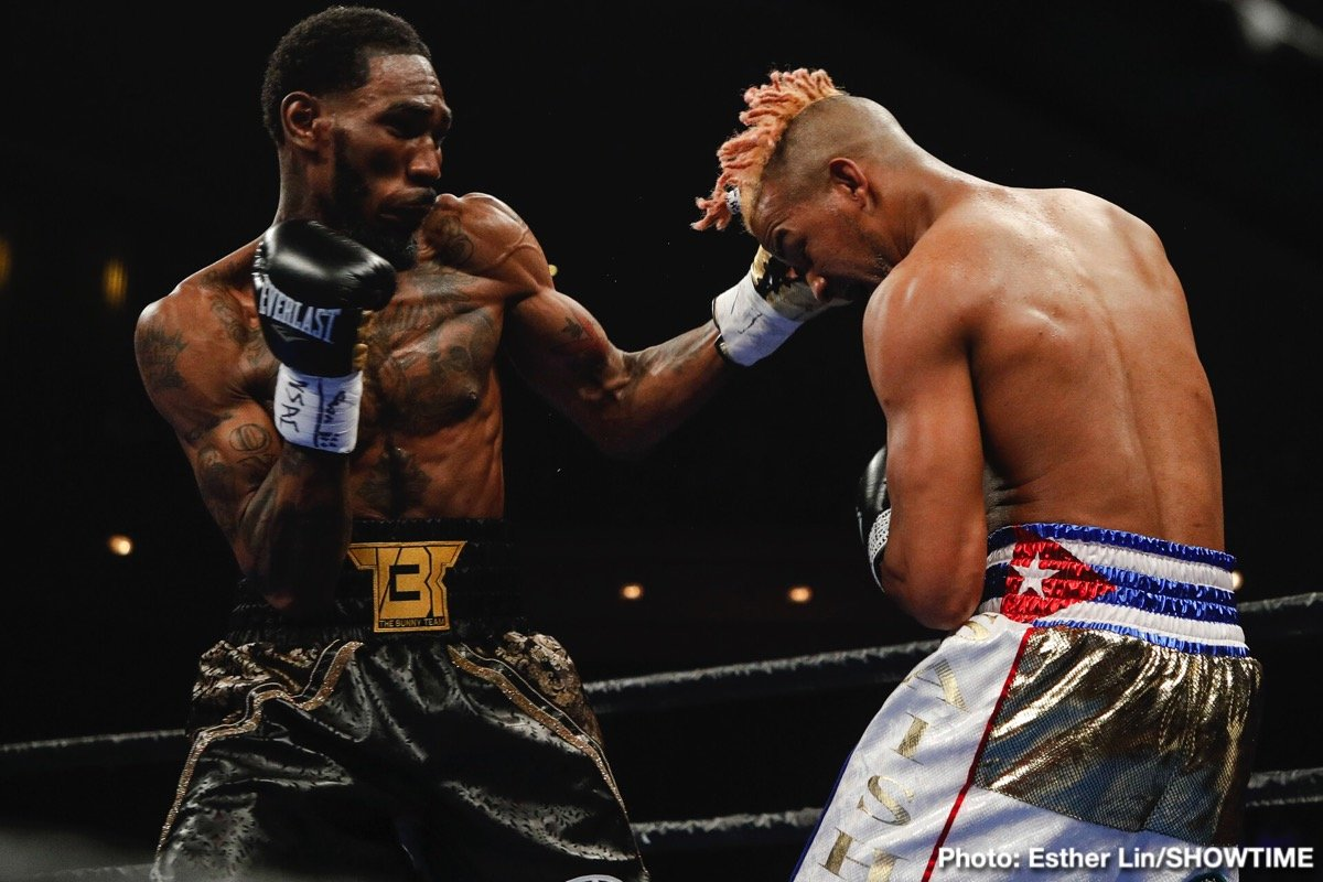 "Adrian Granados, Robert Easter - Former world champion Robert Easter Jr. and all-action veteran Adrian ""El Tigre"" Granados will go toe-to-toe this Saturday, October 26 in a crucial super lightweight showdown as both fighters look to insert themselves into the title picture with a win live on SHOWTIME from Santander Arena in Reading, Pa."