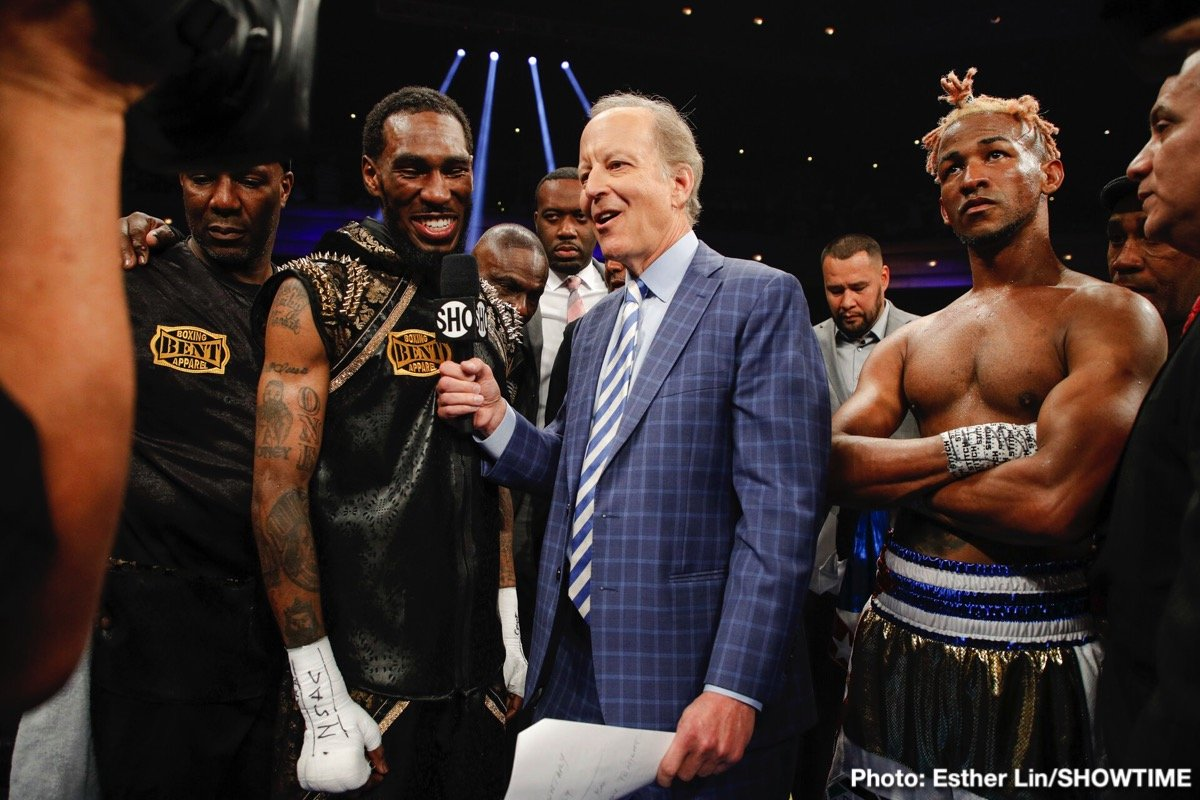 Robert Easter Jr. - Robert Easter Jr. and Rances Barthelemy fought to a split-draw in their matchup for the vacant WBA Lightweight World Title Saturday on SHOWTIME from The Chelsea inside The Cosmopolitan of Las Vegas.
