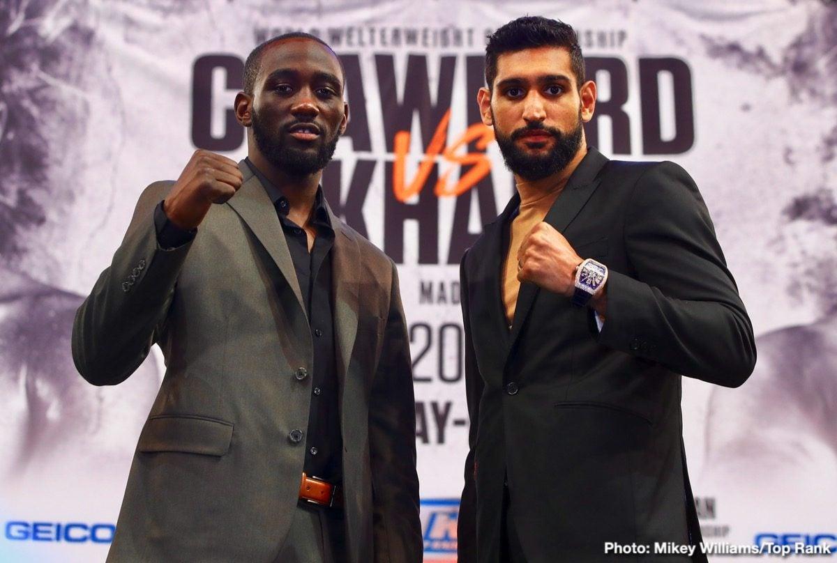 Amir Khan Terence Crawford Boxing News Top Stories Boxing