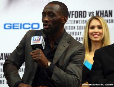 Amir Khan Terence Crawford Boxing News British Boxing Top Stories Boxing