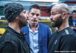 Artem Lobov, Paulie Malignaggi -  Bare Knuckle Fighting Championship (BKFC) hosted a media event in New York Tuesday as recent BKFC signee and former two-division boxing champion Paulie Malignaggi and former UFC standout and Conor McGregor stablemate Artem Lobov had a heated exchange and had to be separated in anticipation of a possible showdown between the two later this year.