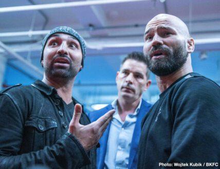 Artem Lobov, Paulie Malignaggi - Press Room