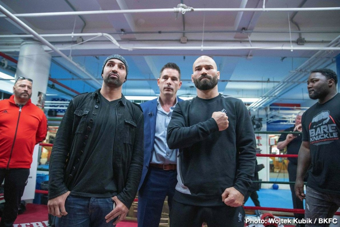 Artem Lobov Paulie Malignaggi Press Room