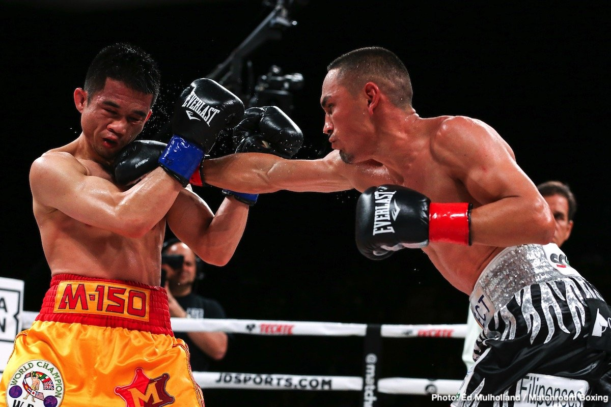 "Srisaket Sor Rungvisai -  It was a thrilling night of action at The Forum in Inglewood, California, and around the world on DAZN. Pound-for-pound star Srisaket Sor Rungvisai and Juan Francisco Estrada met at the site of their first fight, which was a leading contender for ""Fight of the Year"" in 2018, and continued their tremendous ring rivalry with an action-filled fight. Estrada (39-3, 26KOs) exacted revenge in the rematch and claimed the WBC and Ring Magazine Super Flyweight World titles from Rungvisai (47-5-1, 41KOs) via unanimous decision in the main event of the evening."