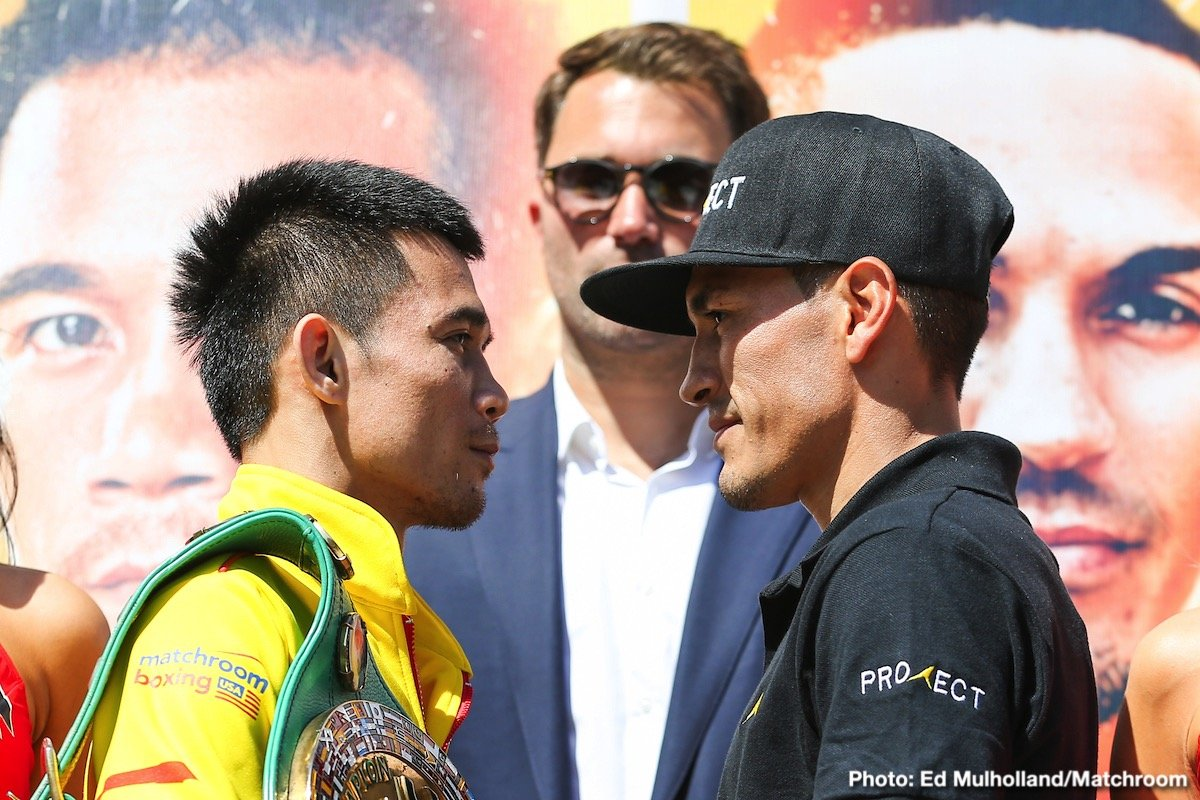 TJ Doheny - With just two days to go until pound-for-pound star Srisaket Sor Rungvisai and Juan Francisco Estrada meet in their highly-anticipated rematch at The Forum and live on DAZN in the US and Sky Sports in the UK, the media gathered in downtown Los Angeles for the final press conference.