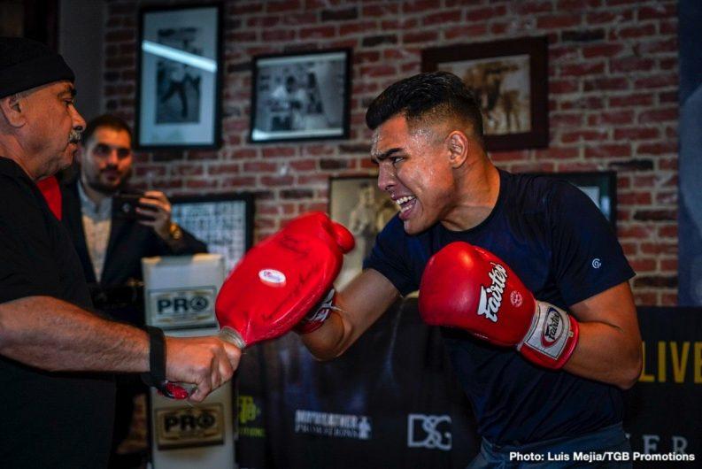 Adrian Granados Andy Ruiz Jr Danny Garcia Boxing News
