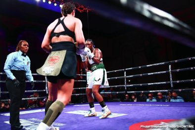 Christina Hammer Claressa Shields Boxing News Boxing Results Top Stories Boxing