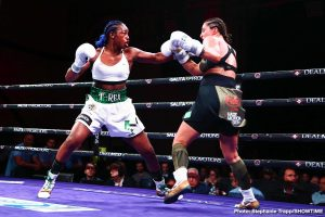 Christina Hammer -  Claressa Shields is the undisputed middleweight champion of the world. The 24-year-old Flint native delivered the best performance of her career and cruised to a unanimous decision over Germany's Christina Hammer Saturday on SHOWTIME in arguably the most significant women's boxing match in history. The judges scored the fight from Boardwalk Hall in Atlantic City 98-92 and 98-91 twice.