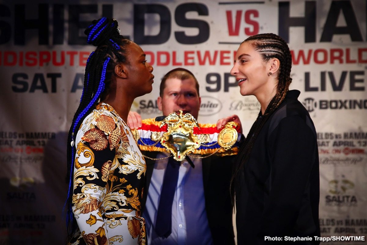 "Christina Hammer Claressa ""T-Rex"" Shields Jermaine Franklin Otto Wallin Boxing Interviews Boxing News"