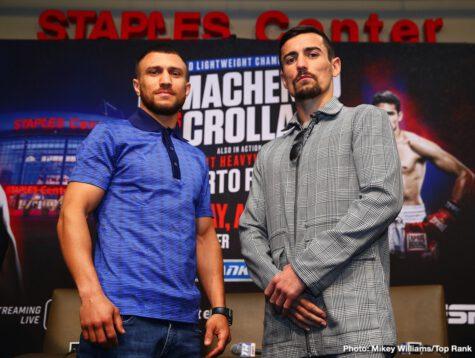 Anthony Crolla, Vasiliy Lomachenko - Boxing News