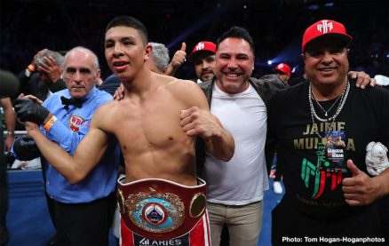 Dennis Hogan Jaime Munguia Boxing News Boxing Results Top Stories Boxing