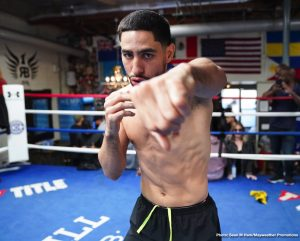 "Adrian Granados - Former two-division champion Danny ""Swift"" Garcia and welterweight contender Adrian Granados took part in a media workout Wednesday as they near their main event showdown that headlines Premier Boxing Champions on FOX and FOX Deportes this Saturday night from Dignity Health Sports Park in Carson, California."