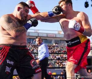DAZN -  Trainer Rob McCraken sees Andy Ruiz Jr. as a serious obstacle for IBF/WBA/WBC heavyweight champion Anthony Joshua (22-0, 21 KOs) that he needs to get out of the way this Saturday night on DAZN in their fight at Madison Square Garden in New York.