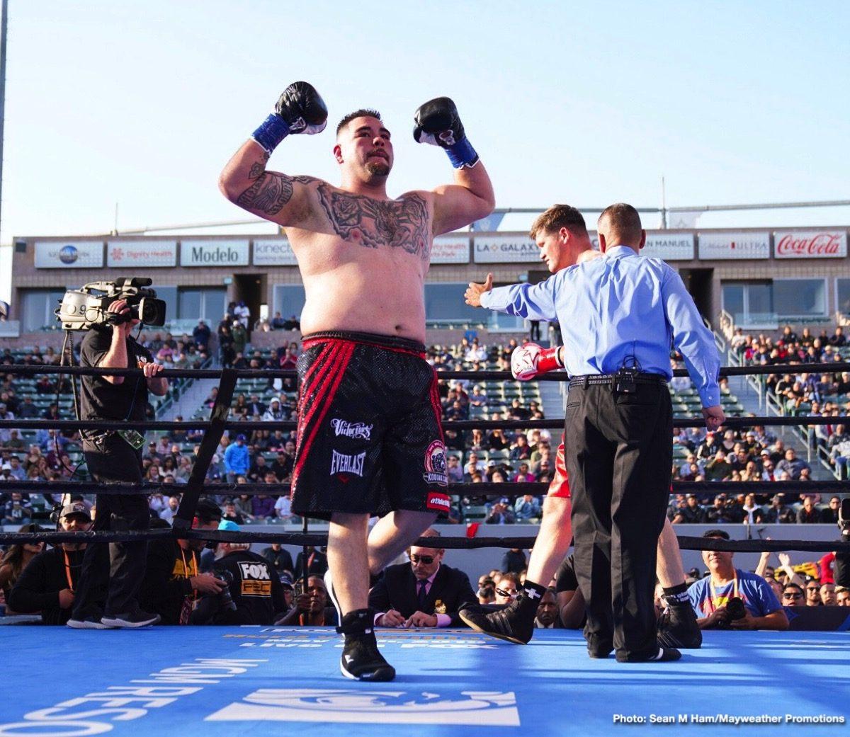 Andy Ruiz Jr Anthony Joshua Boxing News British Boxing