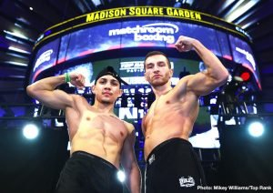 Felix Verdejo - Tomorrow night, undefeated lightweight sensation, Teofimo Lopez (12-0, 10 KOs) continues his quest towards a world championship as he takes on highly-regarded European champion Edis Tatli (31-2, 10 KOs) in the 12-round co-feature of the highly anticipated Terence Crawford - Amir Khan Pay-Per-View card at Madison Square Garden.