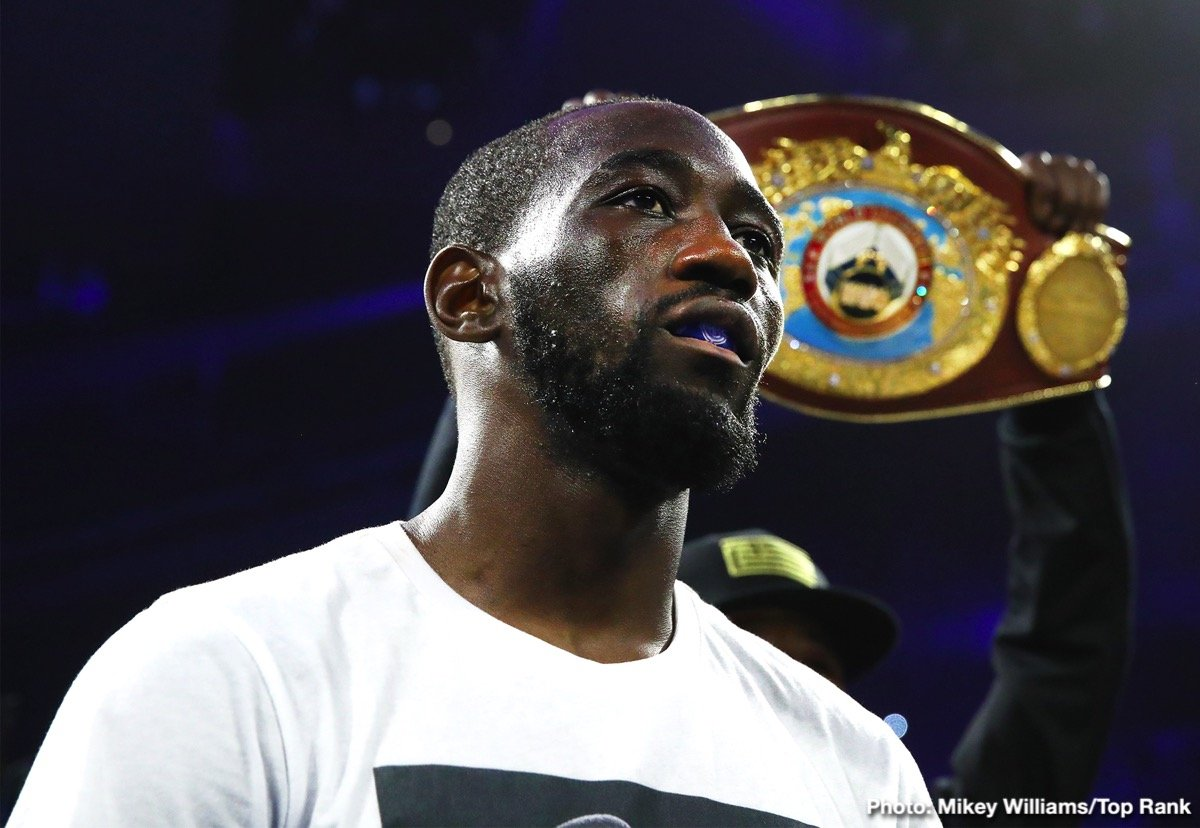 """Errol Spence, Terence Crawford - Has Terence Crawford done enough to be considered as a future Hall Of Famer? Crawford, a three weight world champion - 135, 140 and 147, is if course far from done yet; in fact, it could be argued that the reigning WBO welterweight champ is at or around his absolute peak at age 31 (32 next month). There are sure to be more dazzling and impressive performances to come from the Nebraskan hero, but does """"Bud"""" need a super-solid, defining fight to secure his spot in the HOF?"""