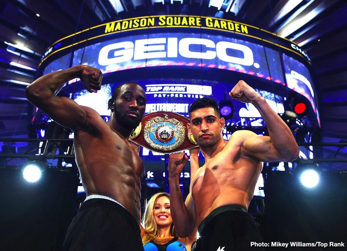Amir Khan, Terence Crawford - Boxing News