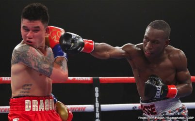 Joshua Franco Oscar Negrete Steve Claggett Yves Ulysse Jr. Boxing News Boxing Results