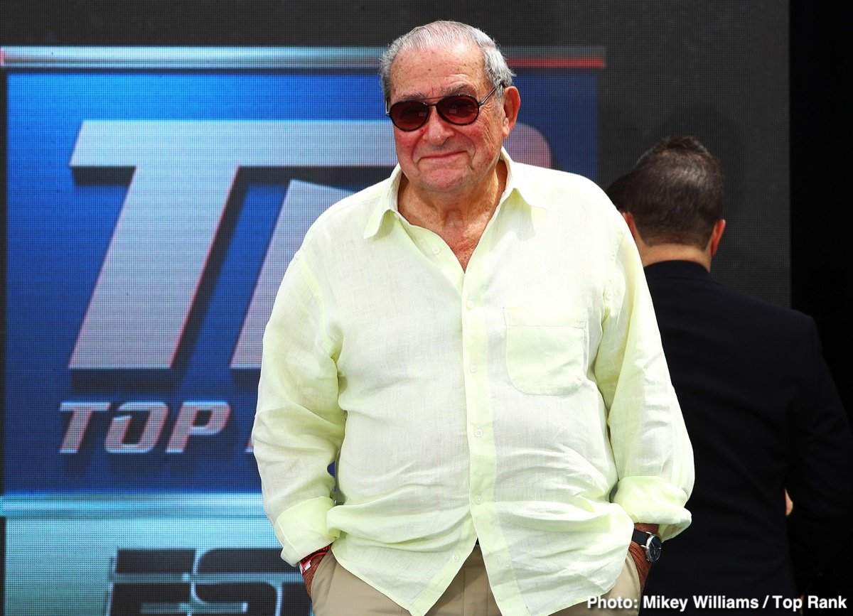 """Bob Arum, Deontay Wilder, ESPN, Tom Schwarz, Top Rank, Tyson Fury - Tyson Fury is and has been for a while, a household name here in the UK, and Top Rank boss Bob Arum aims to do the same for the reigning lineal heavyweight champ in the U.S. Fury, soon to box the first fight of his multi-fight deal with ESPN (against unheralded and largely unknown, outside of Germany at least, Tom Schwarz) is a controversial, outspoken figure, and Arum says he can promote the giant in such a way that the general public in America will """"fall in love with him just the way they fell in love with George Foreman."""""""