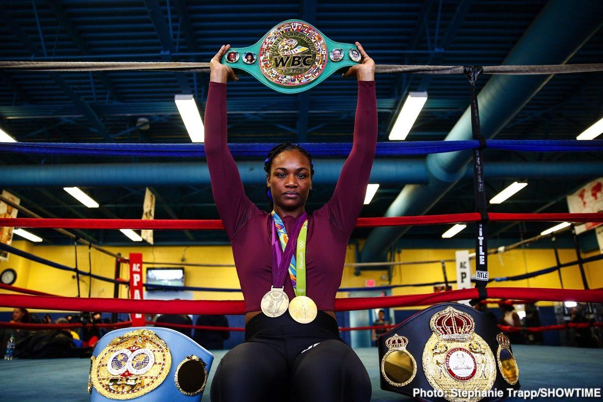Claressa Shields Ivana Habazin Boxing News