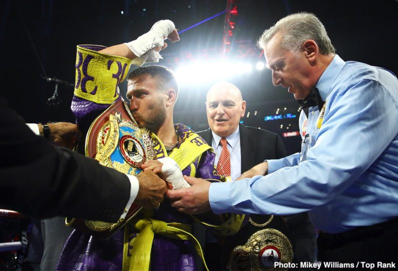 Anthony Crolla Tommy Karpency Vasily Lomachenko Boxing News Boxing Results Top Stories Boxing