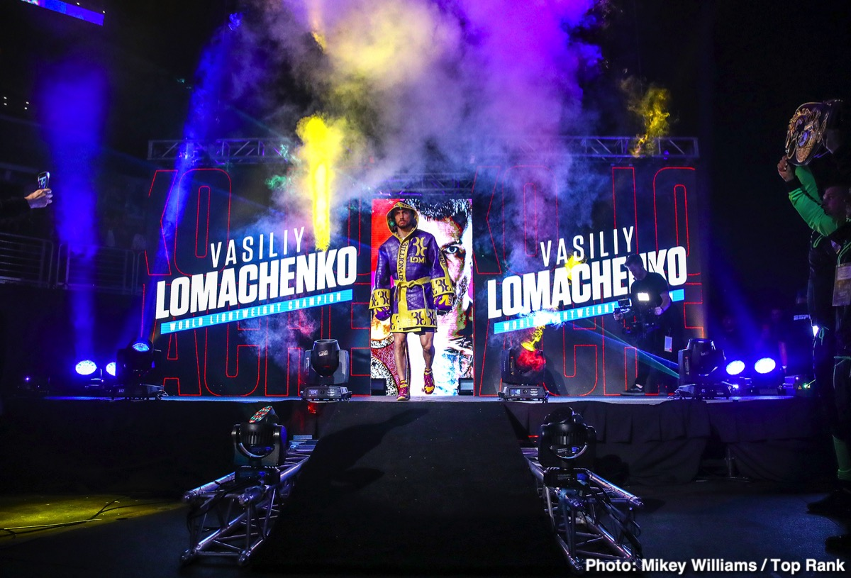 Anthony Crolla Vasily Lomachenko Boxing News