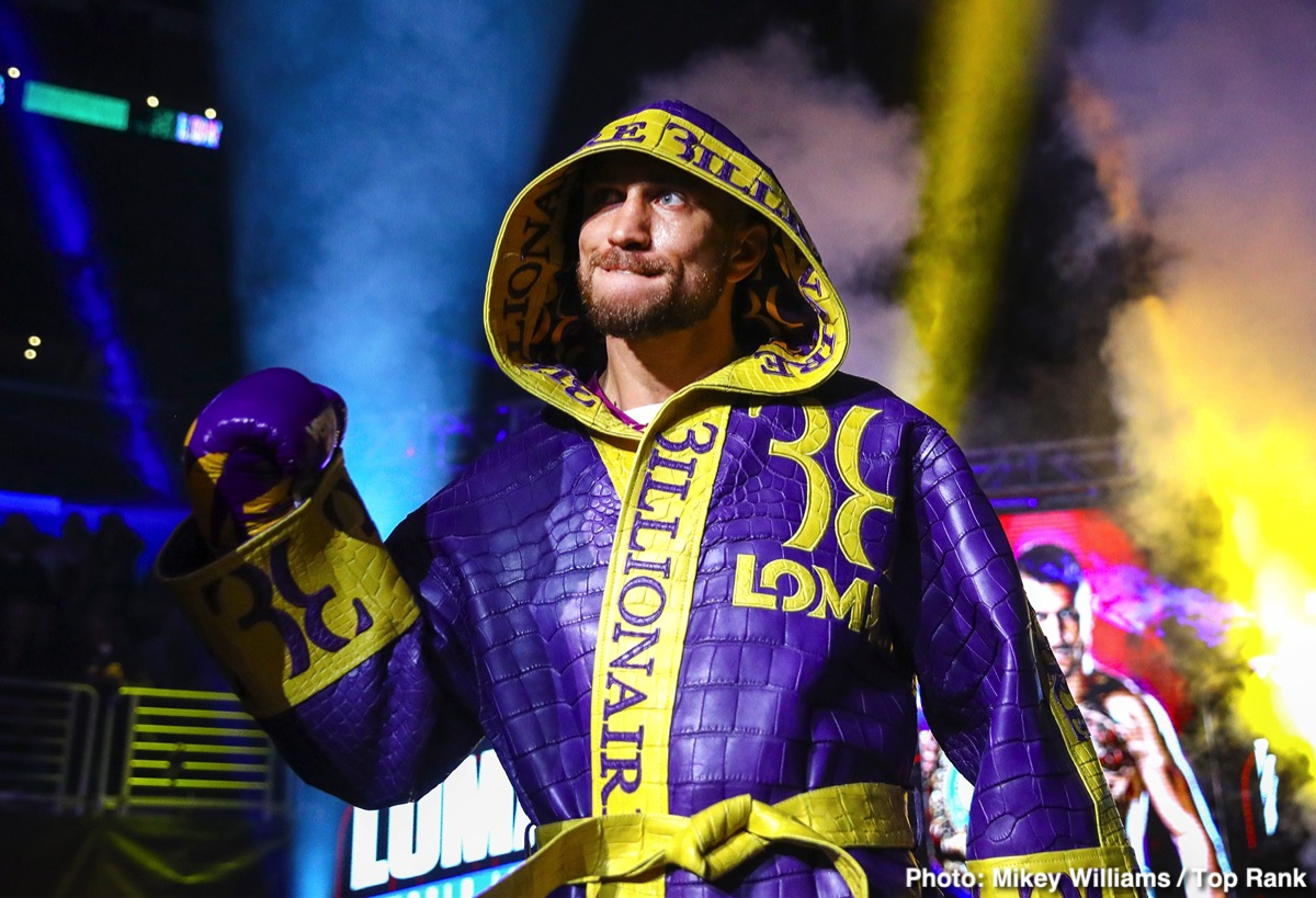 Floyd Mayweather Jr, Terence Crawford, Vasiliy Lomachenko - Floyd Mayweather Jr said this week in an interview Terence Crawford should be a much bigger star than he is currently, and he says this is proof that there's racism that still exists.