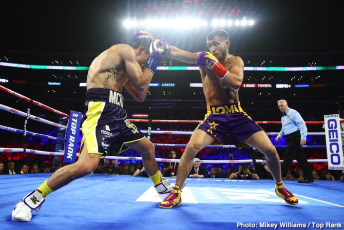 Anthony Crolla, Tommy Karpency, Vasiliy Lomachenko - Boxing News