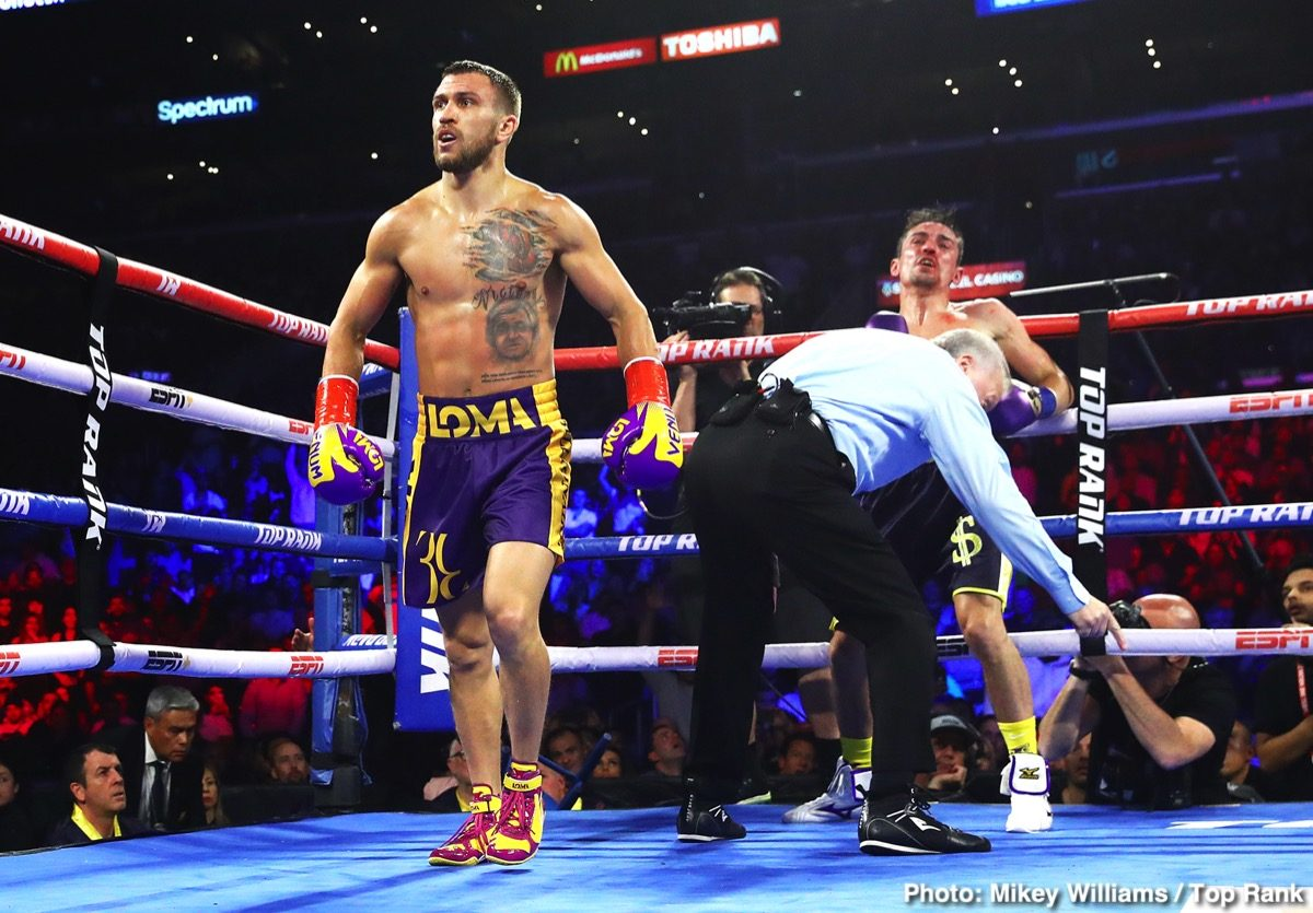Luke Campbell Vasily Lomachenko Boxing News British Boxing