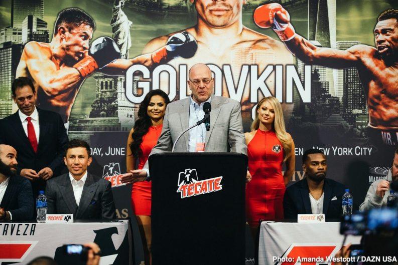 Gennady Golovkin Steve Rolls Boxing News