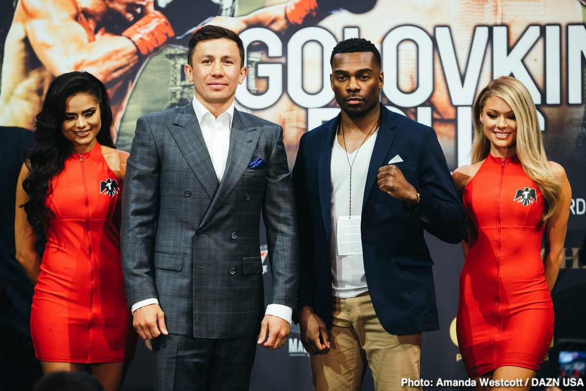 23015b7a07bccc Golovkin vs Rolls Press Conference Quotes   Photos — Boxing News   Views