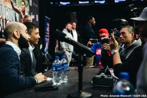 Gennady Golovkin - Gennady Golovkin feels, along with plenty of fight fans, as though he won both fights with Canelo Alvarez. Canelo says he believes he won both fights himself, yet unlike GGG, Canelo isn't overly concerned with a third battle. In fact, the Mexican star has laid down terms: stating how GGG only gets a third fight with him this year if he can win a world title. If not, Canelo said, he will look at other big fights; possibly a move up to light-heavyweight.