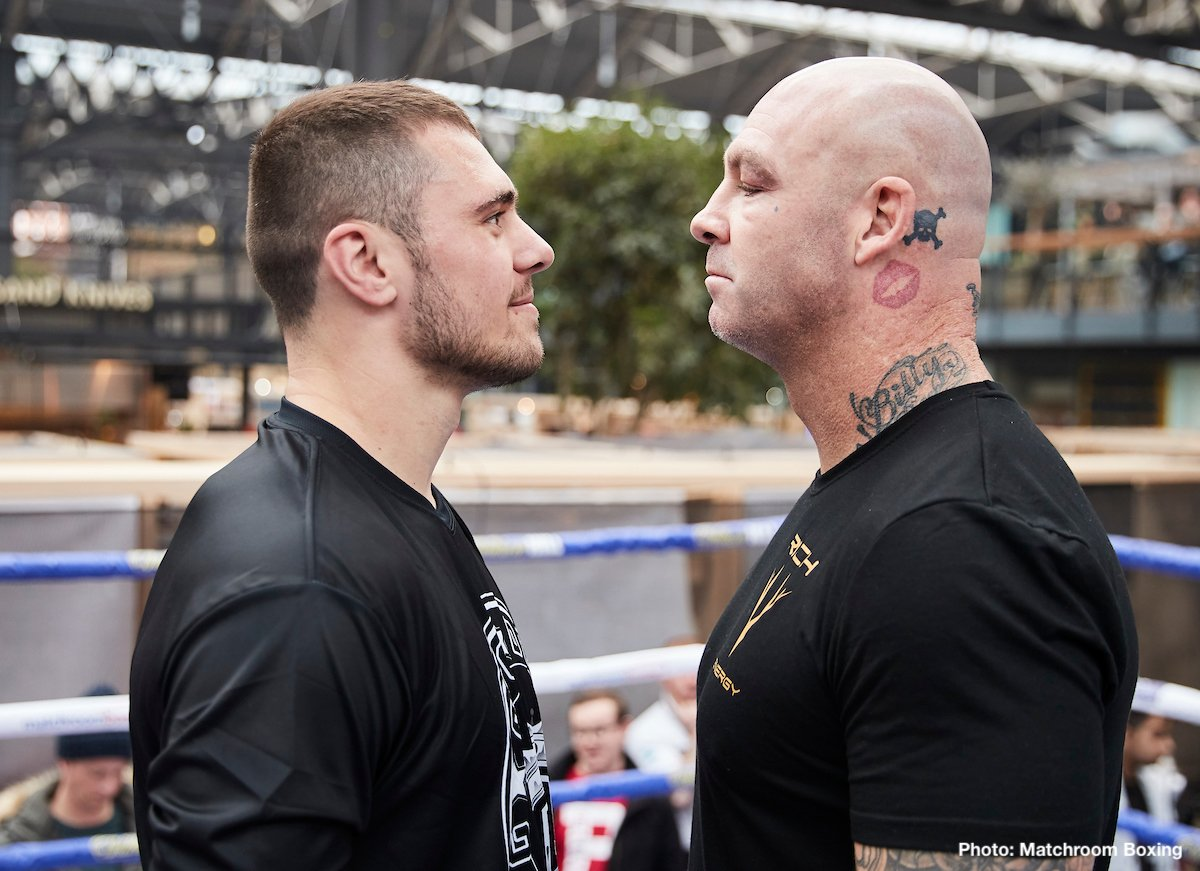 Dave Allen, Lucas Browne - British Boxing