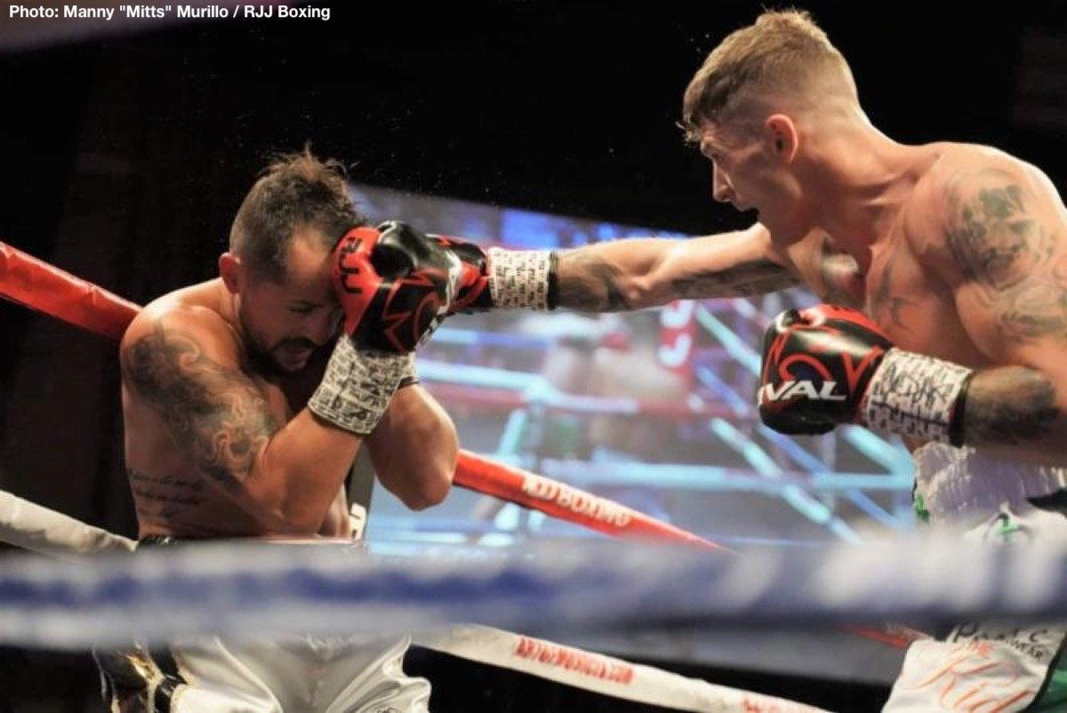 """Connor Coyle - Last night, Irish middleweight prospect Connor """"The Kid"""" Coyle (10-0, 3 KOs) turned in an impressive Las Vegas debut, winning an eight-round unanimous decision over Robert Burwell in the main event, at Sam's Town Hotel & Gambling Hall in Las Vegas."""