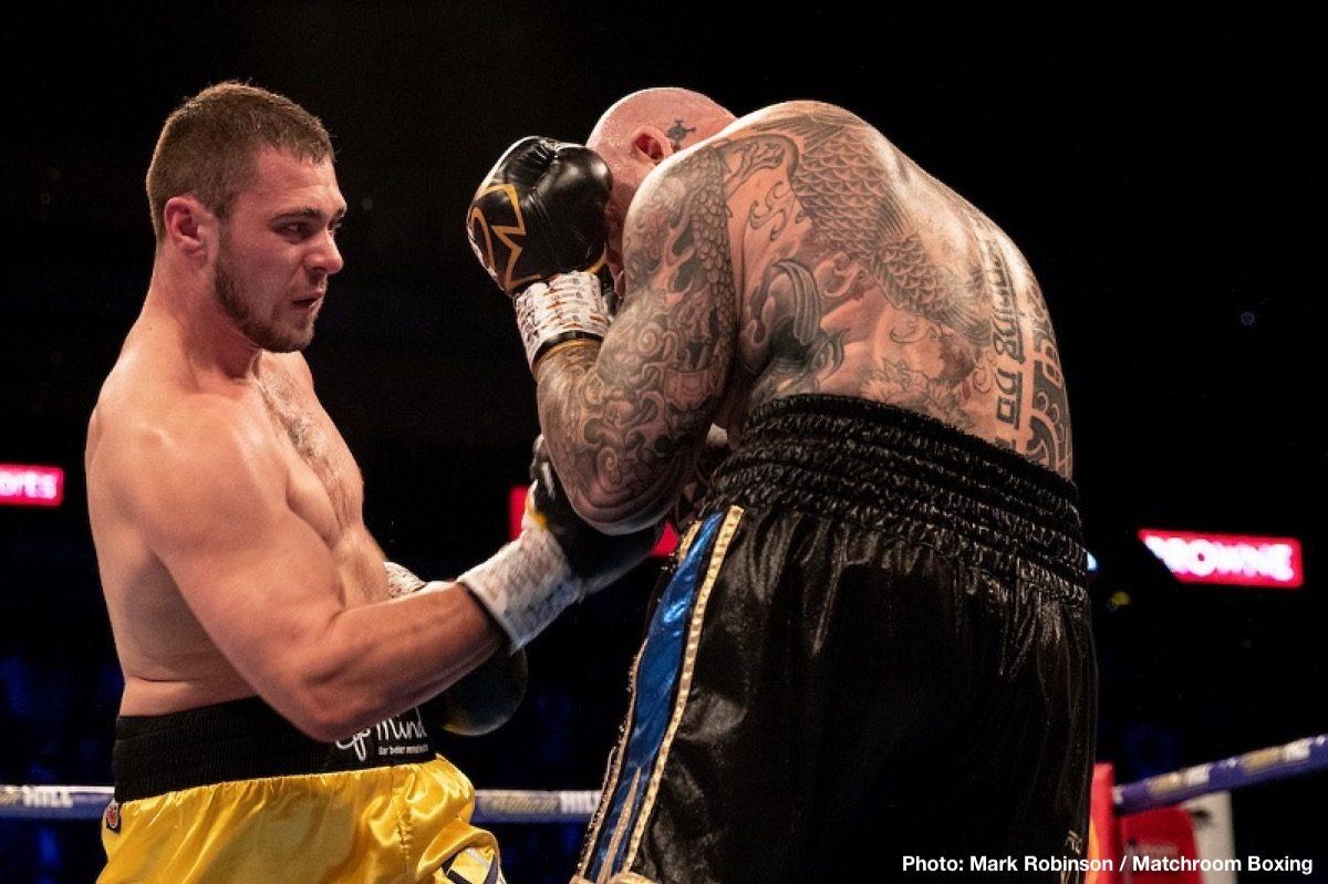 Dave Allen David Price Boxing News British Boxing