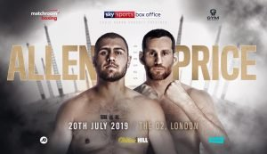 "David Allen - It could prove to be quite the heavyweight night on July 20th at The O2 in London. Dillian Whyte, explosive and hungry, will take on unbeaten Oscar Rivas, fast and also hungry, in the headliner, while British duo David Price and David Allen will collide in the co-feature. And Allen is super-excited, stating how this fight ""could end with one punch."" It sure could, and very possibly will. But which way?"