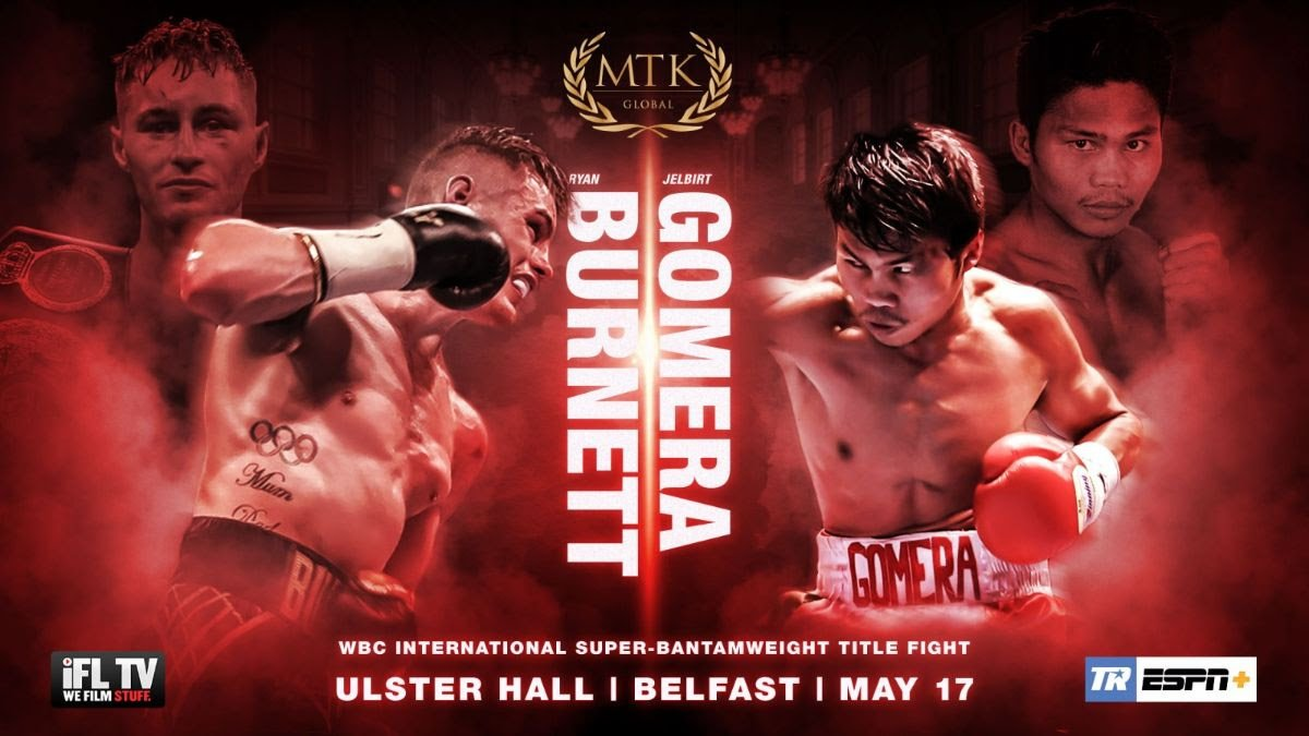 Ryan Burnett - Former unified bantamweight world champion Ryan Burnett will make a sensational return on the #MTKFightNight at Belfast's Ulster Hall on May 17 – in association with Top Rank and broadcast live on ESPN+ and iFL TV.
