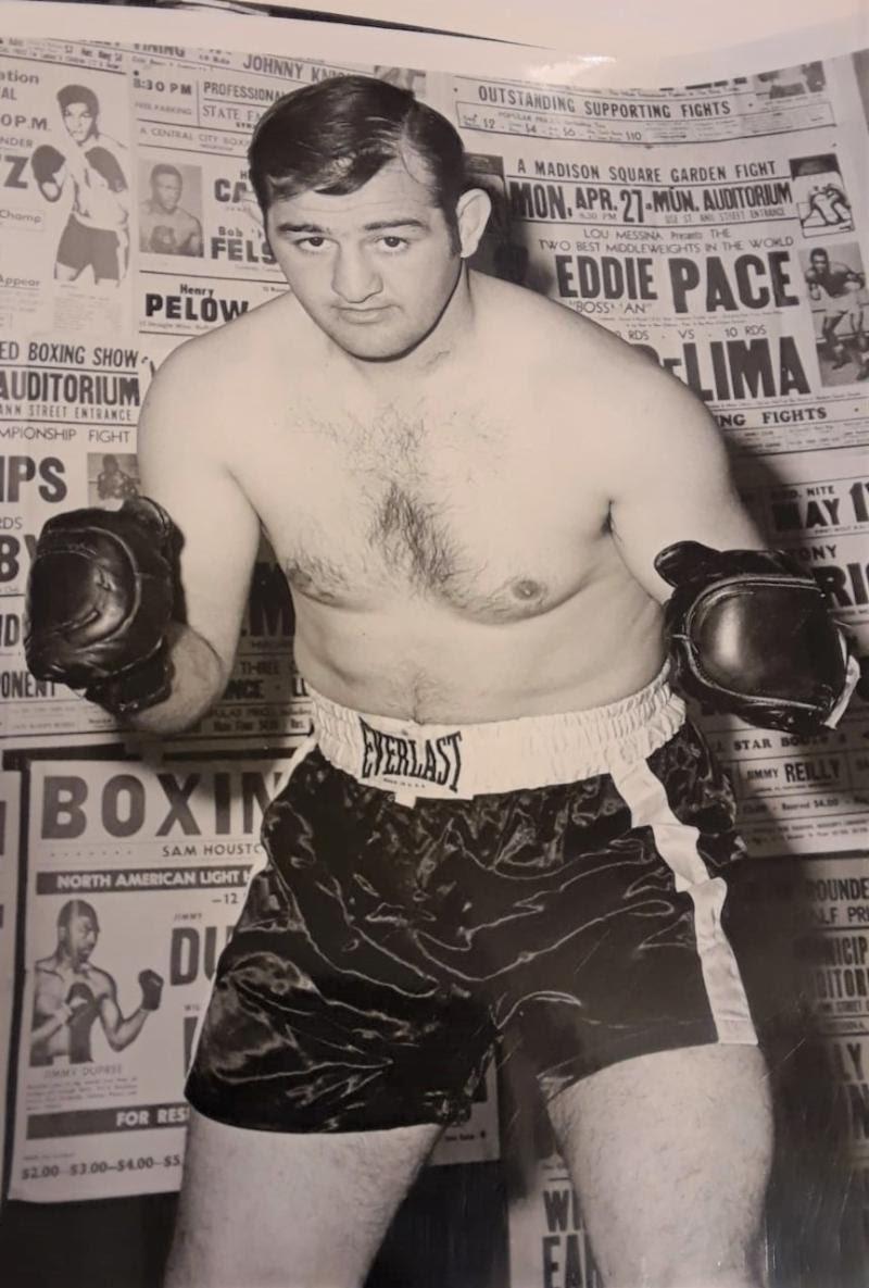 Dick DiVeronica Boxing History Press Room