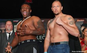 """Johann Duhaupas - French warrior Johan Duhaupas, the only man to have taken Jarrell Miller the full 12 rounds, which he did when he fought him in April of last year, says he is """"disgusted"""" over how the man known as """"Big Baby"""" failed a drugs test ahead of his scheduled June 1st fight with Anthony Joshua."""