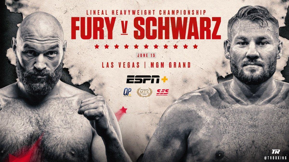 Tom Schwarz Tyson Fury Boxing News Top Stories Boxing