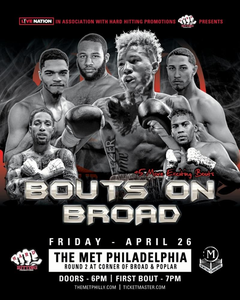 - Undefeated welterweight Malik Hawkins will headline the 2nd Met Philadelphia Boxing Series, when he takes on battle-tested Fabian Lyimo the eight-round main event on Friday, April 26th at The Met Philadelphia.